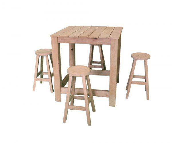 Rustic bar table